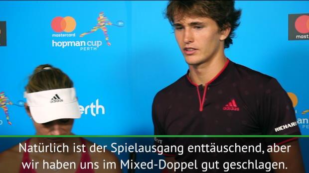 Hopman Cup: Zverev zieht Hut vor Schweizer Duo
