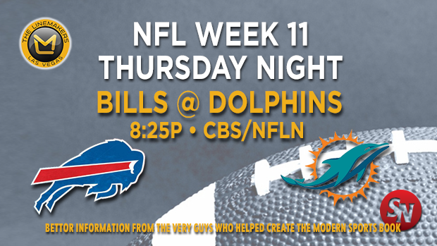 Buffalo Bills @ Miami Dolphins