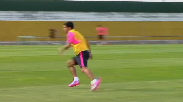 Foot : Barça - Suarez  va de nouveau jouer
