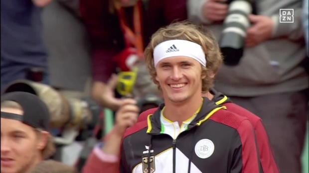 Davis Cup Deutschland - Spanien, Spiel 1
