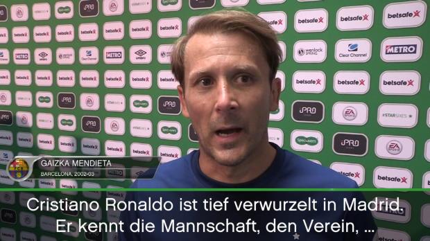 "Mendieta: ""Ronaldo tief verwurzelt in Madrid"""