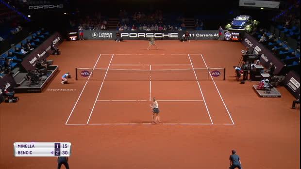 Tennis : Stuttgart - Bencic se qualifie facilement pour le deuxième tour