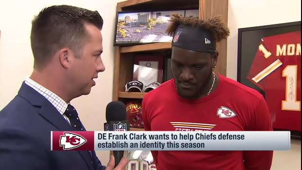 Kansas City Chiefs defensive end Frank Clark emphasizes need for Chiefs' defense to establish new identity