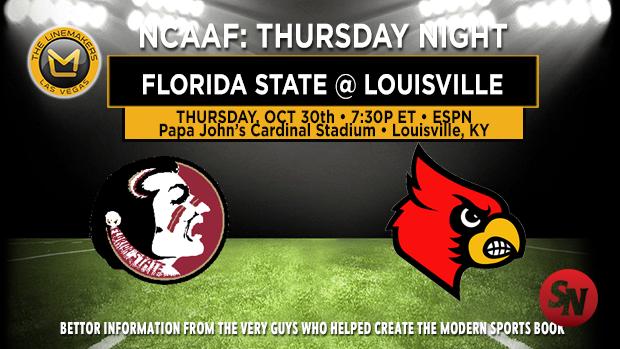 Florida State Seminoles @ Louisville Cardinals