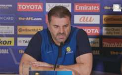 Ange Postecoglou insists there's no extra pressure on the Caltex Socceroos ahead of the clash with UAE.