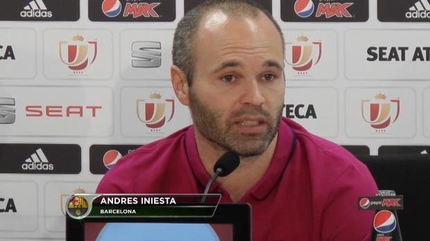 """Iniesta: """"EL-Sieg gibt Sevilla einen Schub"""""""