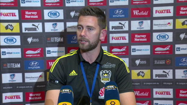 Wellington Phoenix Rd19 press conference