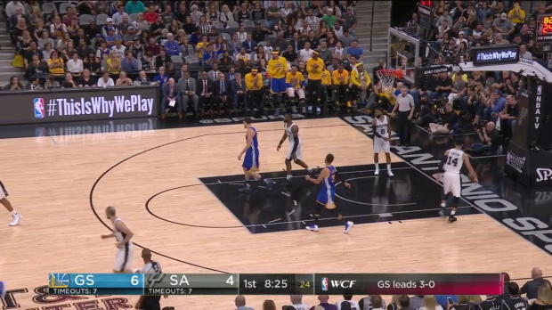 WSC: Highlights: Stephen Curry (36 points) vs. the Spurs