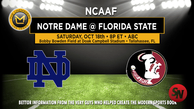 Notre Dame Fighting Irish @ Florida State Seminoles
