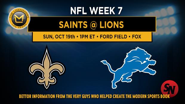 New Orleans Saints @ Detroit Lions