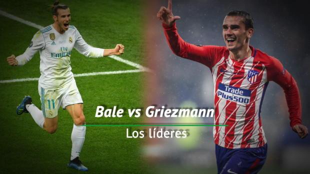 Los lideres: Bale vs. Griezmann