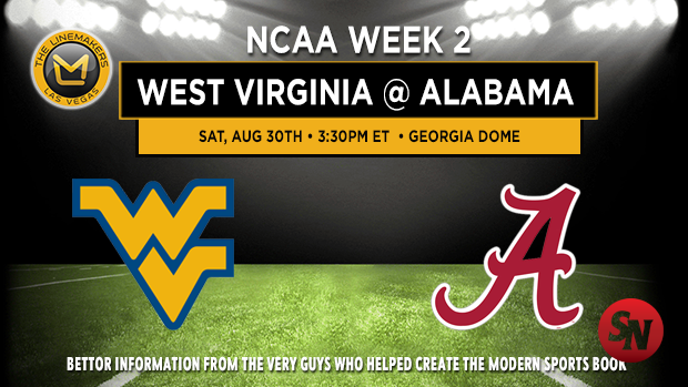 West Virginia vs Alabama
