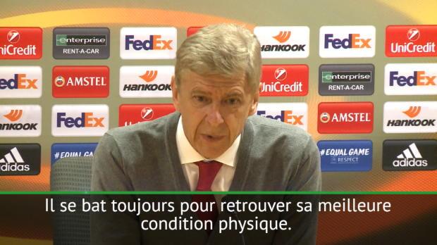 Groupe H - Wenger - 'Sanchez se bat pour retrouver son meilleur niveau'