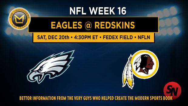 Philadelphia Eagles @ Washington Redskins