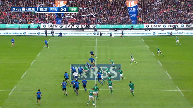 O'Brien Out, France v Ireland, 13th February 2016