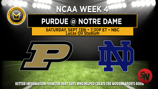 Purdue Boilermakers vs. Notre Dame Fighting Irish