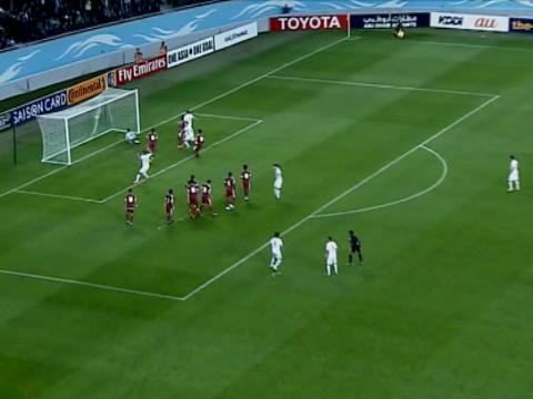 لقطة: كرة قدم: ركلة حرة رائعة تمنح الفوز لأوزبكستان
