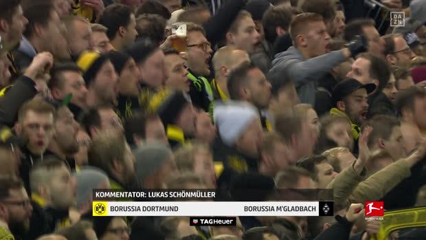 1. Bundesliga: Borussia Dortmund - Borussia M'gladbach | DAZN Highlights