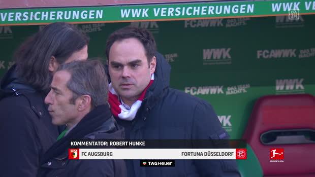 Bundesliga: FC Augsburg - Fortuna Düsseldorf | DAZN Highlights