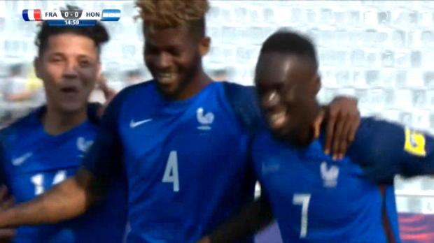 لقطة: بطولة العالم دون 20 عاما: أوغوستين يمنح فرنسا الأسبقيّة أمام هندوراس