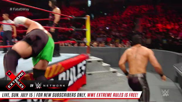 First-ever Extreme Rules Fatal 5-Way Match: WWE Extreme Rules 2017 (Full Match - WWE Network Exclusive)