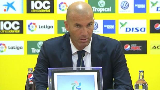 Zidane nach Unentschieden: Zufrieden, aber ...
