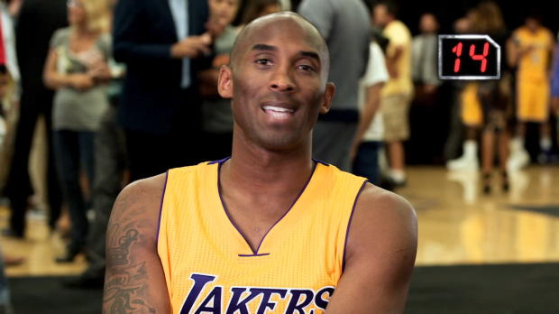24 seconds: Kobe Bryant