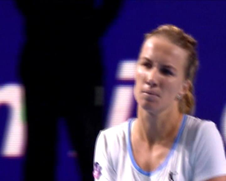 تنس: بطولة موسكو: كوزنتسوفا تسقط بابوش 7-5، 6-7 و6-2
