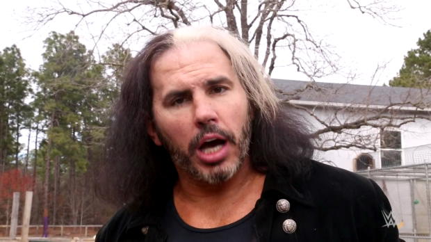 """Woken"" Matt Hardy consults with George Washington: WWE.com Exclusive, March 17, 2018"