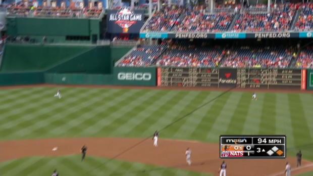 Peterson's 2-run home run