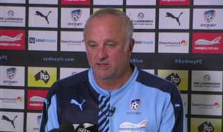 Sydney FC Head Coach Graham Arnold says his side are ready to fight to maintain their unbeaten league record this season in Melbourne.