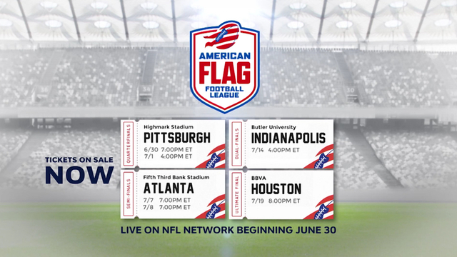 This is the AFFL: Everything you need to know about the American Flag Football League