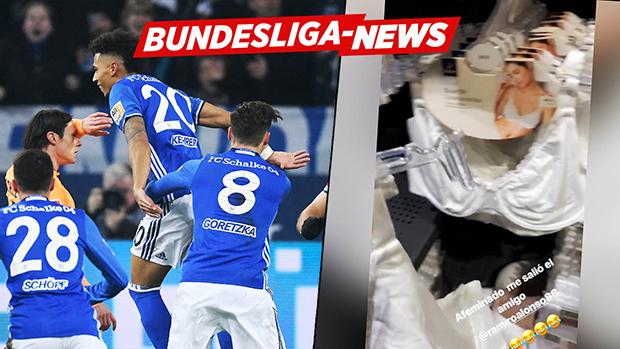 Vor Revier-Derby | Schalke-Star wirft BH bei Edeka | Bundesliga-News