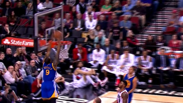 Basket : NBA - Warriors - Curry et Iguodala font le show !