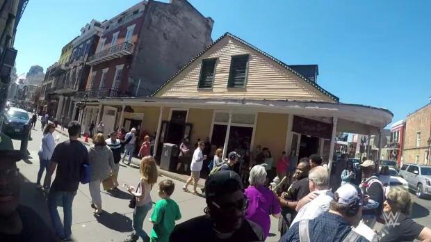 John Cena's theme surprises people in New Orleans