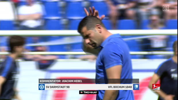 2. Bundesliga: Darmstadt - Bochum | DAZN-Highlights