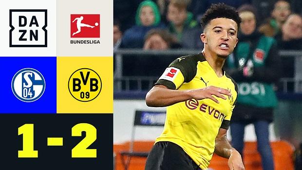 Bundesliga: FC Schalke 04 - Borussia Dortmund | DAZN Highlights