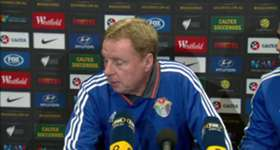 Interim Jordan manager Harry Redknapp conceded the Socceroos' superior fitness was telling in their World Cup qualifier.