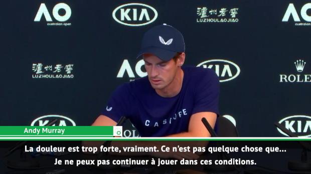 : Retraite - Murrray - 'Arrêter à Wimbledon'