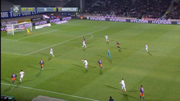 Ligue 1 Round 15 : Lyon 2 - 4 Montpellier