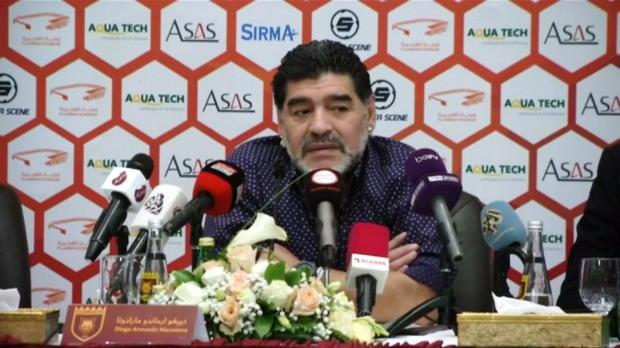 VAE: Neu-Trainer Maradona ätzt gegen Blatter