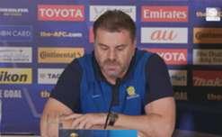 Caltex Socceroos boss Ange Postecoglou has been impressed by midfielder Jackson Irvine's progression.