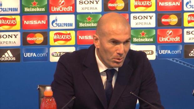 """Zidane: """"Enttäuscht über Chancenverwertung"""""""