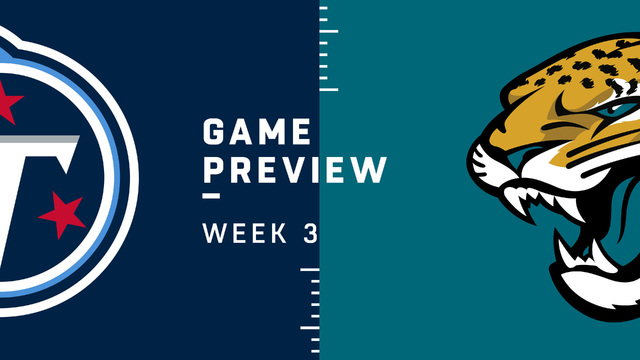 Titans vs. Jaguars Week 3 preview | NFL Playbook
