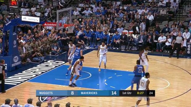 WSC: Harrison Barnes (22 points) Highlights vs. Denver Nuggets