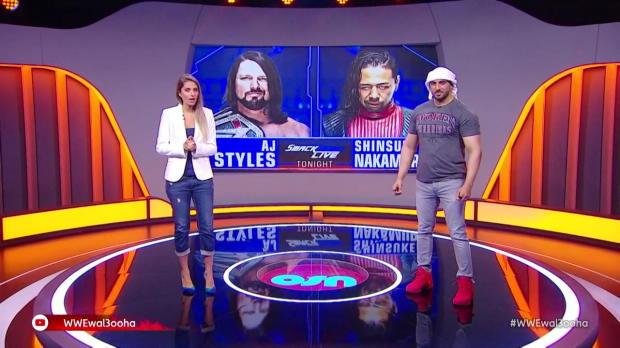 AJ Styles & Jeff Hardy vs. Rusev & Shinsuke Nakamura: Wal3ooha, 12 July, 2018