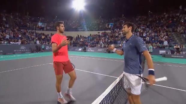Basket : Abu Dhabi - Djokovic soigne son entrée