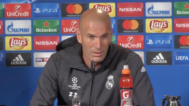 """Zidane: """"Wird ein ganz schwieriges Spiel"""""""