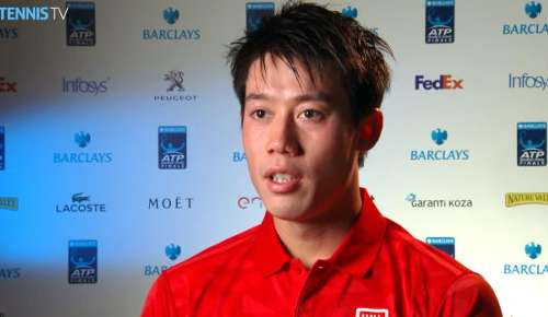 Nishikori Interview: ATP World Tour Finals RR