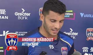 Newcastle Jets attacker Andrew Nabbout speaks about his return from an ankle injury plus the challenge of facing Perth Glory at nib Stadium in Western Australia on Saturday night.